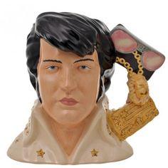 Elvis Viva Las Vegas Large Royal Doulton Discontinued Character & Toby Jugs