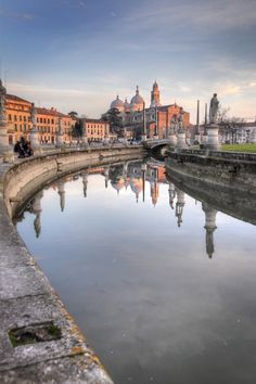 Padova, Veneto, Italy Little city that had a lot of famous people live there (Dante, Galileo, etc)