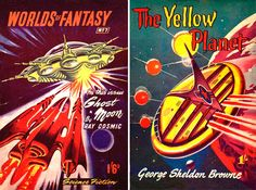 Dark Roasted Blend: Rare & Wonderful 1950s Space Art