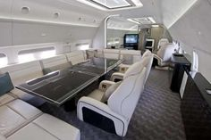 Boeing BBJ comes with ultra luxurious interiors and high-speed digital system