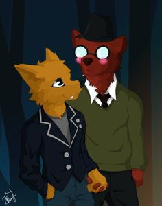 Gregg and Angus by NeikTheFish | Night in the Woods | art
