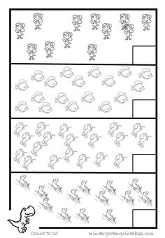 counting worksheets-11-20