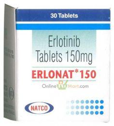 Buy Anti Cancer Medicine Erlonat/Tarceva 150mg Tablets from OnlineRxMart