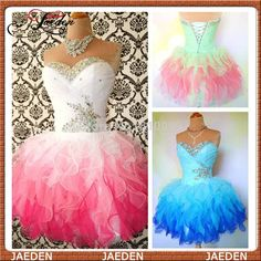 PC208 Real Photos New Hot Sale 3 Styles Sexy Short Sweetheart Mini Cocktail Dress 2014 Summer Party Prom Dress Lace Up Back $79.80