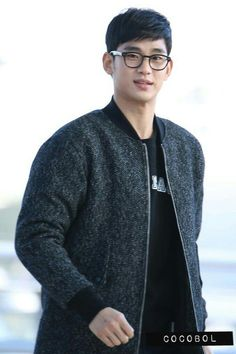 nice [Fan Photos] Actor Kim Soo Hyun at Incheon Airport going to Macau 01.17.2015