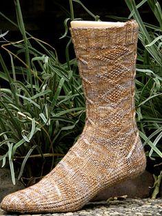 Ravelry: Boromir Socks pattern by Claire Ellen