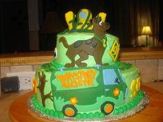 Scooby Doo 2 Tier  Mckenzies Cakes cakepins.com