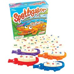 Amazon.com: Spelligator Board Game: Game: Toys & Games