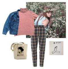 """""""Untitled #73"""" by kittymaid ❤ liked on Polyvore featuring Kenzo and Levi's"""