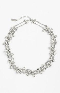 Romantic wreath necklace by Nina #NordstromWeddings