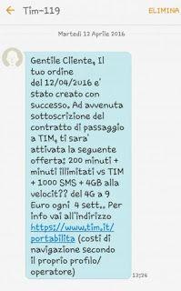 Offerta TIM per under 30 9euro al mese