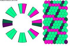K3956 - friendship-bracelets.net Strings: 16 Colors: 4