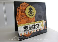 Seeing Ink Spots: Halloween for Hand Stamped Sentiments
