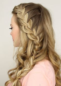 Side French Braids - Beautiful