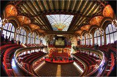 El Palau de la Música es una gran obra de la arquitectura modernista