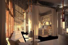 déco Philippe Starck - maison à Bali