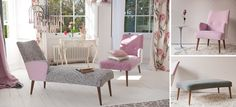 chaise lounges, designers guild