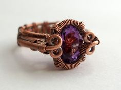 Tutorial: Spiral Bezel Ring by Abby Hook | JewelryLessons.com