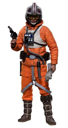 Star+Wars+figurine+1/6+Luke+Skywalker+Rogue+Group+Snowspeeder+Pilot+(Episode+V)++Sideshow