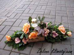 zielone klimaty - kwiaty Lublin: Stroiki i wiązanki na grób