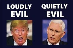 People think we'll be better under Mike Pence. No, not true. Pence may be more traditional predictable, but he is a theocracy true believer and THAT is dangerous.