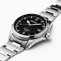 Neue SEIKO x TiCTAC 35th Anniversary Collaboration SZSB006 Breitling, Seiko Coutura, Seiko Men, Men's Watches, Watches For Men, Luxury Watches, Analog Watches, Sport Watches, Field Watches