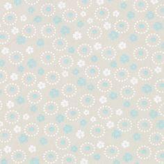 Bavlna Zázračná květina 9 - Bavlna - písková