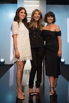 Nina Garcia, Constance Zimmer, and Shiri Appleby looking beautiful at the runway show.