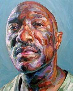 Artist / Paul Wright. #painting #paintings #paint #model #men #head #portrait #art #artists #illustration #artist #eyes #lips #nose #face #artwork