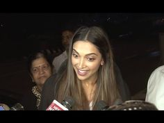 Deepika Padukone's EXCLUSIVE interview 2017 at Mumbai airport. Deepika Padukone Latest, Mumbai Airport, Bollywood News, Gossip, Interview, Photoshoot, Youtube, Photo Shoot, Photography