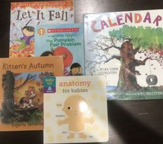 September – October | TODDLER BOOK LIST MommaAMommaB Tot School Apple Life Cycle, Gail Gibbons, Folder Games, Community Helpers, Toddler Books, School Themes, Tot School, Life Cycles, Fall Harvest