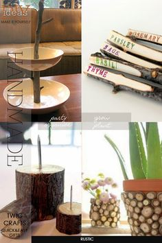 DIY Twig Crafts | 4 easy, rustic projects to make as gifts | DiaryofaCreativeFanatic