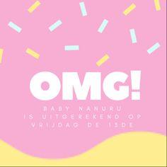 Due-date! Vrijdag de 13de is onze kleine babyboy uitgerekend!!
