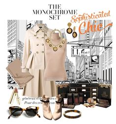 """""""the monochrome set"""" by daincyng ❤ liked on Polyvore featuring Boutique Moschino, Vivienne Westwood, Lanvin, Michael Kors, Tory Burch, Sigerson Morrison, Dolce&Gabbana and ULTA"""