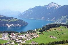 Lake Lucerne, Switzerland....Been there once and would love to go again some day.