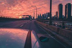 Toronto Sunset from the Gardiner West