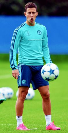 Eden Hazard during the training session at Cobham Training Ground - (15.09.15)