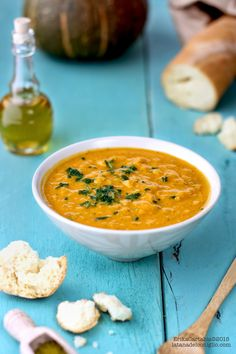 La tana del coniglio: Crema di zucca e lenticchie rosse al curry