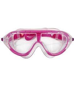 Speedo    Bio FUSE    Kinder 6-14 Jahren    Hybrid-Maske für maximale Sicht    UV Schutz    Ultra-Antibeschlag    Großes Sichtfeld    Schnelle Anpassung    Farbe : Pink