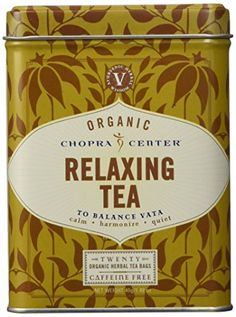 Harney  Sons Relaxing Organic Chopra Center Herbal Tea 148 oz >>> Visit the image link more details. (This is an affiliate link and I receive a commission for the sales)