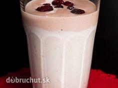Chladivé brusnice Glass Of Milk, Drinks, Food, Drinking, Beverages, Essen, Drink, Meals, Yemek