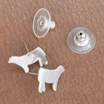 Heifer Earrings @katatum .. I think you need some of these, heifer