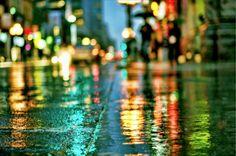 City Streets Night
