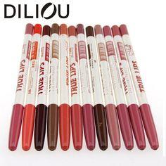 2016 DILIOU 12Pcs/set Per Set Brand makeup New Women's Professional Lipliner Waterproof Lip Liner Pencil 15CM 12 Colors comestic♦️ SMS - F A S H I O N 💢👉🏿 http://www.sms.hr/products/2016-diliou-12pcsset-per-set-brand-makeup-new-womens-professional-lipliner-waterproof-lip-liner-pencil-15cm-12-colors-comestic/ US $2.99