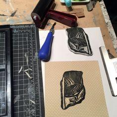 Block printing process