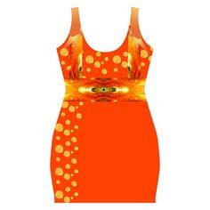 xping through life Full Print Bodycon Dress