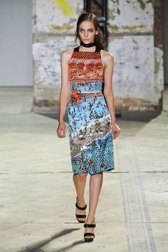 Proenza Schouler Spring -inspired by the Internet. They are always so witty.