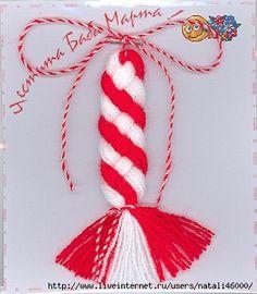Мэрцишоры. | Записи в рубрике Мэрцишоры. | Дневник Tudvala : LiveInternet - Российский Сервис Онлайн-Дневников Baba Marta, 8 Martie, Christmas Crafts, Christmas Ornaments, Rubrics, Design Crafts, Crochet, Tassels, Projects To Try