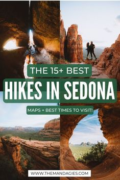 Ready to take on these amazing hiking trails in Sedona? We're sharing the best Arizona hiking tips a complete packing list for Sedona and things to consider when hiking in the desert. Save this pin for your next vacation to Arizona! Sedona Arizona, Sedona Hikes, Arizona Travel, Phoenix Arizona, Hiking In Arizona, Utah Hikes, Colorado Hiking, Hiking Tips, Travel