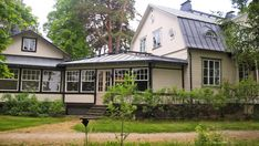 Juhlatila Villa Rulludd Espoo Helsinki, Finland, Gazebo, Villa, Outdoor Structures, Cabin, Mansions, House Styles, Home Decor